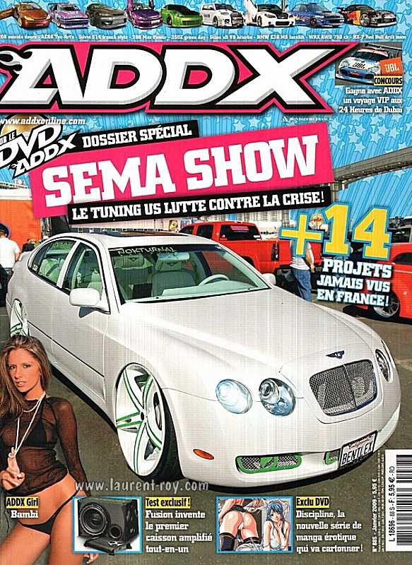 magazine auto tuning